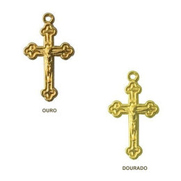 Crucifixo Dourado 12mm x 17mm