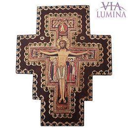 Cruz de São Damião Decorada