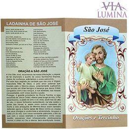 Folheto - Novena a São José - Pacote c/50