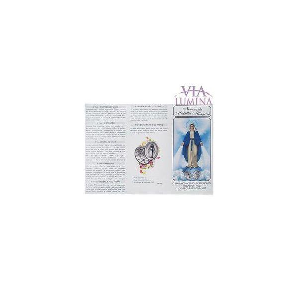 Novena da Medalha Milagrosa - Folheto