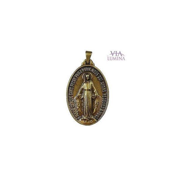 Medalha de Nossa Senhora das Graças - Ouro Velho