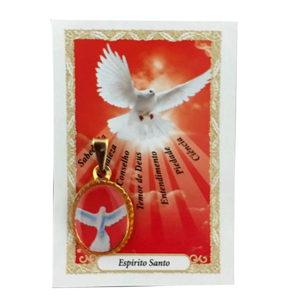 Medalha do Divino Espírito Santo (Sem a oração)