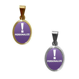 Medalha Mini Personalizada (Pacote com 50 unids.)
