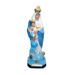 Nossa Senhora das Vitórias - Gesso ou Resina - 30cm