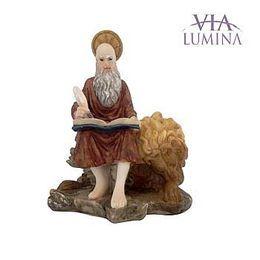Imagem de São Jerônimo em Resina de 12cm