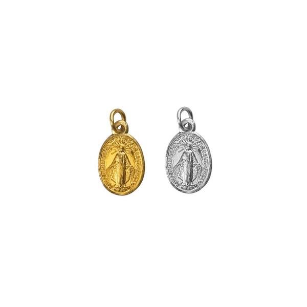 Medalha Milagrosa de Nossa Senhora das Graças - 1,1cm