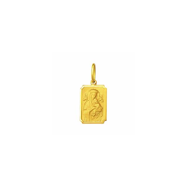 Medalha de Nossa Senhora Perpétuo Socorro em Ouro