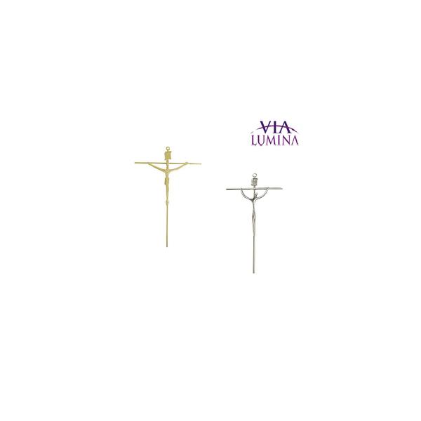 Crucifixo de Parede Estilizado - Redondo