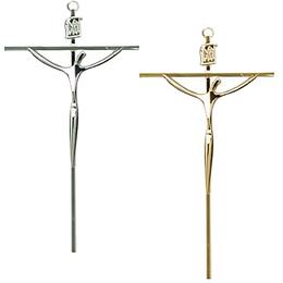 Crucifixo de Parede Estilizado - Quadrado