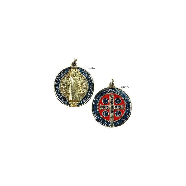 Medalha de São Bento Colorida