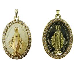 Medalha Milagrosa de Nossa Senhora das Graças de 5cm