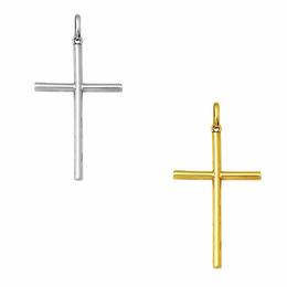 Cruz Palito em Ouro - Redondo