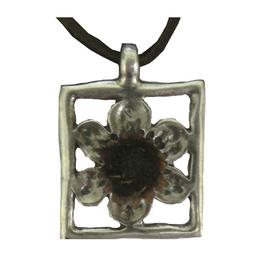 Pingente Rosa de Belém - Moldura Flor