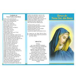 Folheto do Terço de Nossa Senhora das Dores