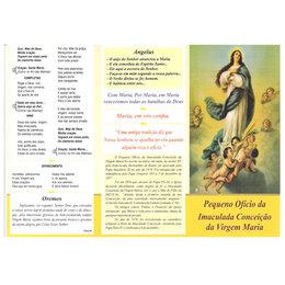 Folheto do Ofício da Imaculada Conceição