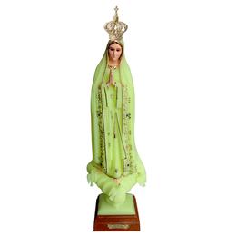 Imagem de Nossa Senhora de Fátima Importada e Luminosa