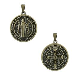 Medalha de São Bento em Ouro Velho