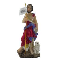 Imagem de São João Batista em Resina de 9,8cm