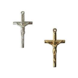 Crucifixo Palito para Terço - 2,2cm x 4,1cm
