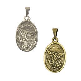 d486af9bf509a Medalha de São Miguel Arcanjo Anjo da Guarda - 2cm