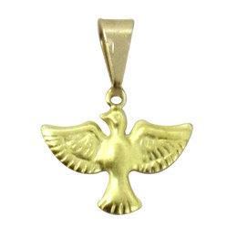 Pingente Pombinha do Divino Espírito Santo  - 1,4cm (Pacote c/50 unids.)