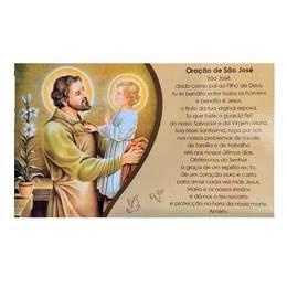 Cartão de São José - Dia dos Pais c/ 10 unidades