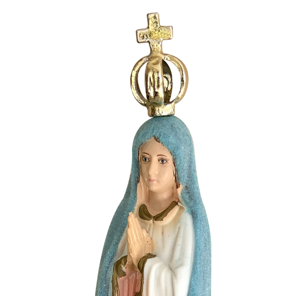 Imagem N. Sra. de Fátima Muda de Cor de 15cm - Importada de Portugal