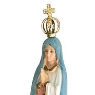 Imagem Importada de N. Sra. de Fátima Muda de Cor de 15cm