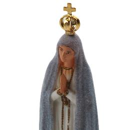 Imagem Importada de N. Sra. de Fátima Muda de Cor de 20cm