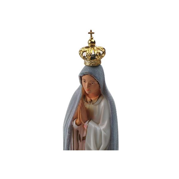 Imagem Importada de N. Sra. de Fátima Muda de Cor de 40cm