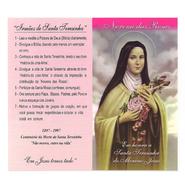 Folheto - Novena das Rosas de Santa Terezinha - Pacote c/ 100