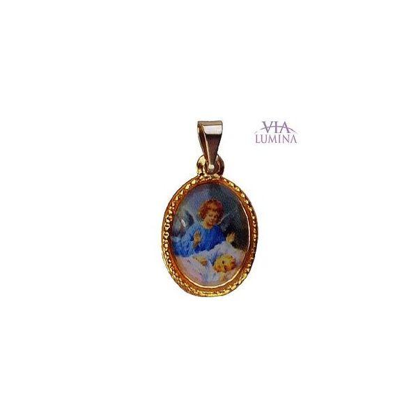 Medalha Pequena Dourada - 25 unidades