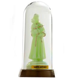 Santo Antônio - Plástica Com Redoma - 12cm