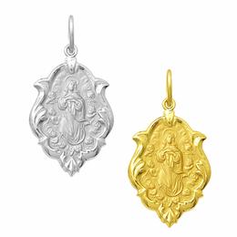 Medalha de Nossa Senhora da Conceição em Ouro - Ornato