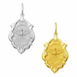 Medalha em Ouro do Divino Espírito Santo - Ornato