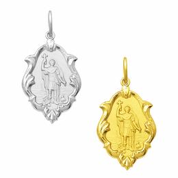 Medalha em Ouro de Santo Expedito - Ornato