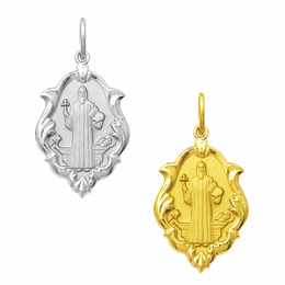 Medalha de São Bento em Ouro - Ornato