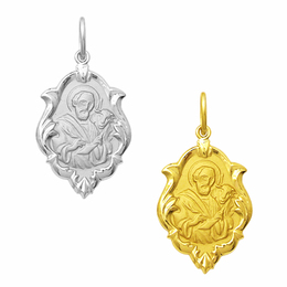 Medalha em Ouro de São Lucas - Ornato