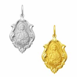 Medalha em Ouro de Santa Edwiges - Ornato