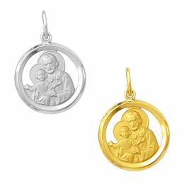 Medalha em Ouro de São José - Vazada