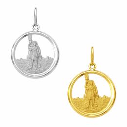 Medalha em Ouro de Santo Expedito - Vazada