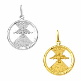 Medalha em Ouro do Divino Espírito Santo - Vazada