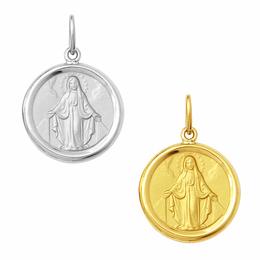 Medalha em Ouro de Nossa Senhora das Graças - Redonda