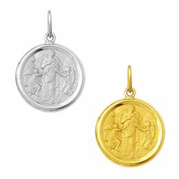 Medalha em Ouro de Nossa Senhora Desatadora dos Nós - Redonda