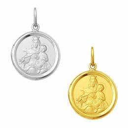 Medalha em Ouro de Nossa Senhora do Carmo - Redonda