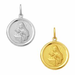 Medalha em Ouro de Santa Rita - Redonda