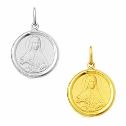 Medalha em Ouro de Santa Terezinha - Redonda