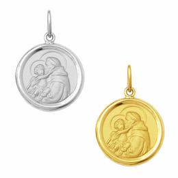 Medalha em Ouro de Santo Antônio - Redonda