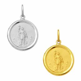 Medalha em Ouro de Santo Expedito - Redonda