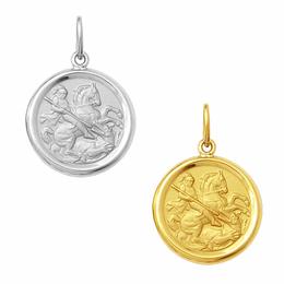 Medalha em Ouro de São Jorge - Redonda
